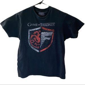 Game of Thrones Black T-shirt M